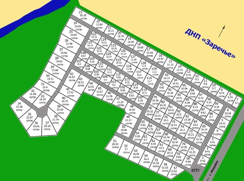 Участок 17 соток, вблизи с. Борисово, Можайский р-н, 90 км от МКАД