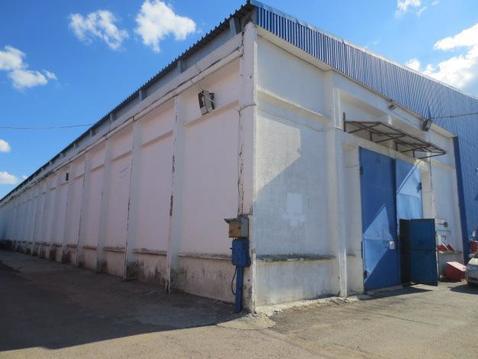 Теплый склад 700 м2 с площадкой для фур в Долгопрудном