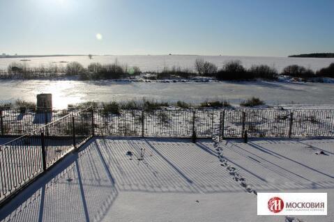 Участок 15,7 с. на берегу пруда в д. Рыжово, 35 км от МКАД, Калужское