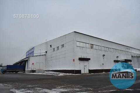 Сдается теплый склад с пандусом, потолки 18 метров, 4 ворот, территори
