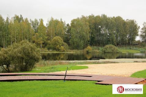 Продается участок 12,7 соток в поселке с собственным пляжем (Щапово), 2998525 руб.
