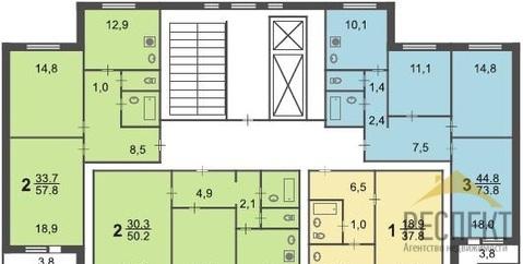 Продаётся 3-комнатная квартира по адресу Новокосинская 20к2