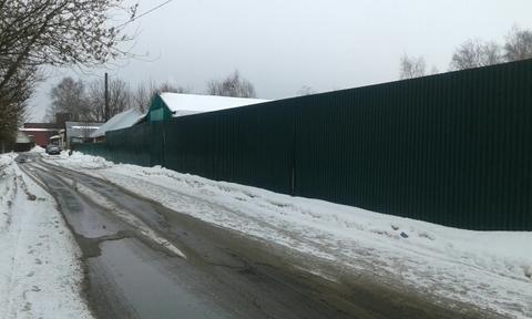 Промышленный участок 8 соток в Сгонниках по Осташковскому шоссе