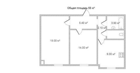 Продам 2-комн. кв. 55 кв.м. Москва, Маршала Полубоярова