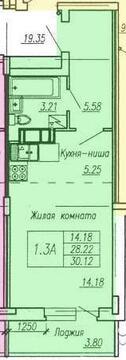 Продаётся 1-комнатная квартира по адресу Лорха 15