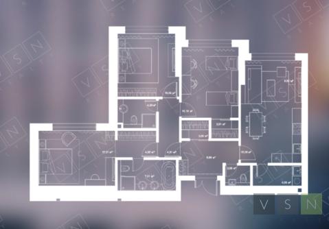 3-комнатная квартира, 100 кв.м.
