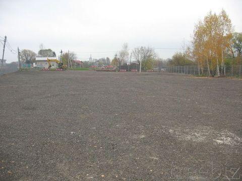 Аренда открытой, огороженной площадки на Ленинградском шоссе под .