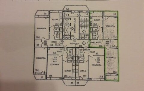 Ивантеевка, 2-х комнатная квартира, Центральный пр д.17, 4800000 руб.
