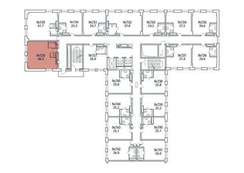 Москва, 1-но комнатная квартира, ул. Радиальная 6-я д.7, к 35, 4411278 руб.