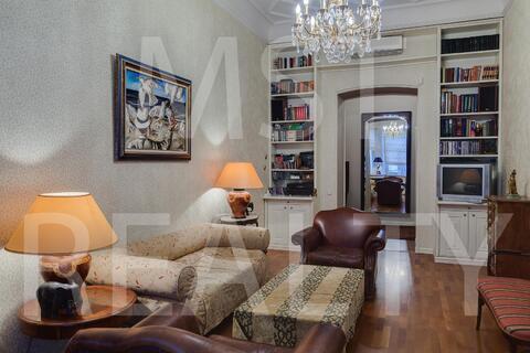 Квартира с особой атмосферой и духом Старой Москвы