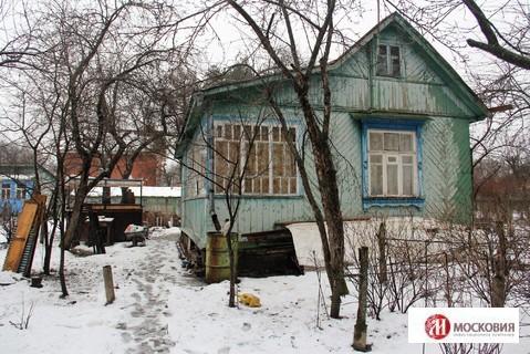 Участок 8,5 соток с домом в СНТ Коммунарка, 5 км от МКАД, Калужское ш