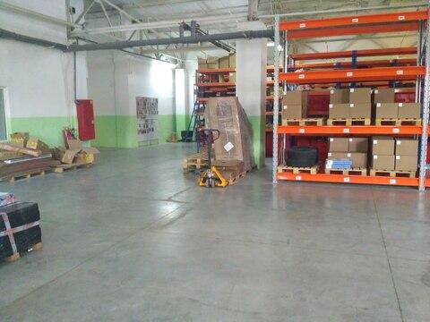 Отапливаемый склад 674 кв.м, с хорошим ремонтом