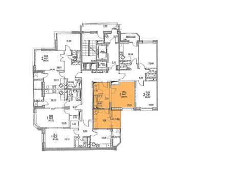 Москва, 1-но комнатная квартира, ул. Радиальная 6-я д.7, 5164407 руб.