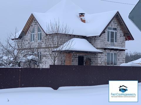 Новый дом в центре деревни Мокрое, газ, вода