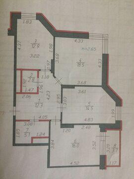 Щелково, 3-х комнатная квартира, ул. Шмидта д.6, 8700000 руб.