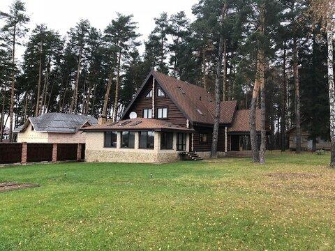 Дом 300 кв.м, сосновый бор, д. Репниково Чеховский р-н
