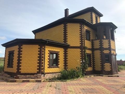 Каменный дом 220 кв.м, д. Богдановка Чеховский р-н. Недорого.