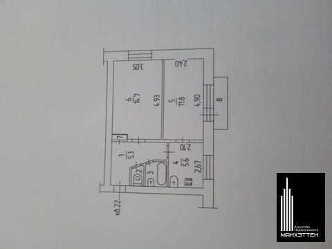 Продаётся двухкомнатная квартира в привокзальном районе