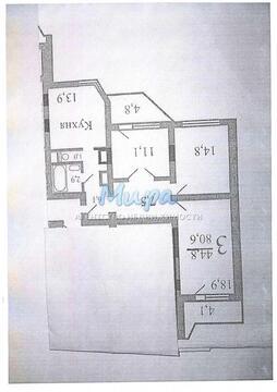 Москва, 3-х комнатная квартира, Рождественская д.33, 7290000 руб.