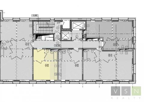 """1-комнатная квартира, 28 кв.м., в ЖК """"Селигер Сити"""""""