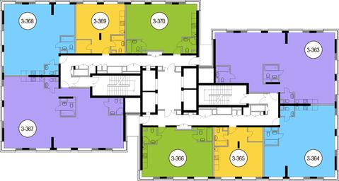 Москва, 2-х комнатная квартира, Головинское ш. д.10, 13367200 руб.