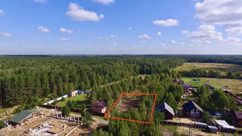 Участок 14 соток Крайний к лесу с. Строкино ИЖС