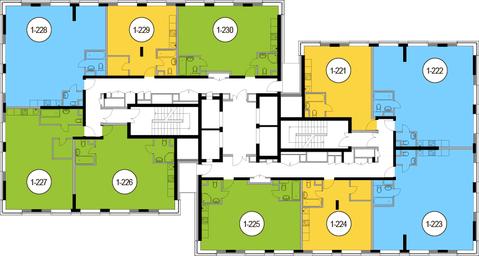 Москва, 2-х комнатная квартира, Головинское ш. д.10, 12975200 руб.