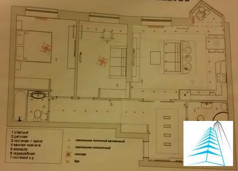 """3-комнатная квартира, 85 кв.м., в ЖК """"Дом на Беговой"""""""