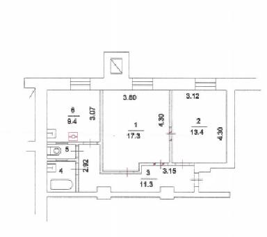 Продаю 2-х комнатную квартиру м Серпуховская