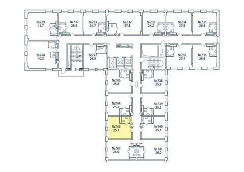 Москва, 1-но комнатная квартира, ул. Радиальная 6-я д.7, к 35, 2849126 руб.