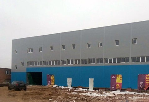 Производственно-складское здание 2870 кв.м.