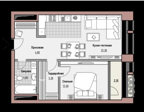 Москва, 1-но комнатная квартира, ул. Новослободская д.24, 23250000 руб.
