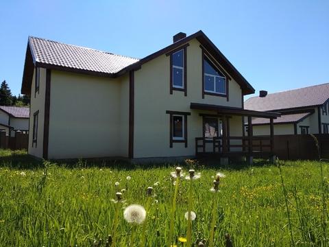 Новый дом 195 кв.м. на участке 10 соток