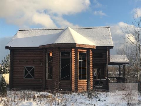 Продается бревенчатый дом в д.Акишево