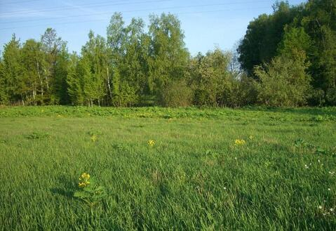 Продается земельный участок в д. Леньково, Рузский р, Московская обл.