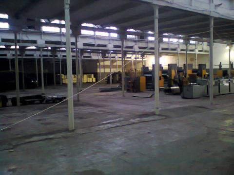 Производственное здание 3000кв.м г.Серпухов ул.Химиков д.1