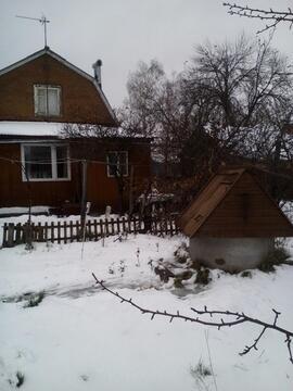 Земельный участок 10 сот. с дачным домом в д. Барабаново
