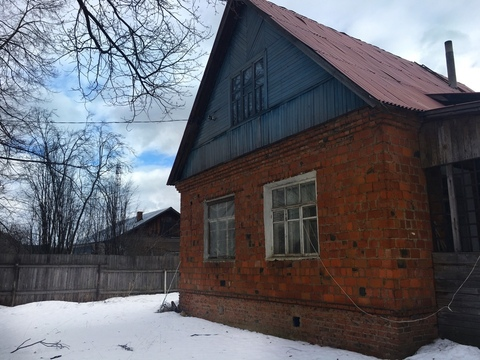 Участок 11 соток с домом в г. Голицыно, ул. Дорожная, 4700000 руб.