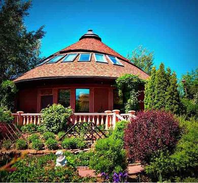 Уникальный дом на Рублевке, интересная архитектура, низкая цена, 15 км