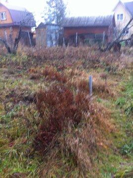 Дачный участок в СНТ с садовым домиком