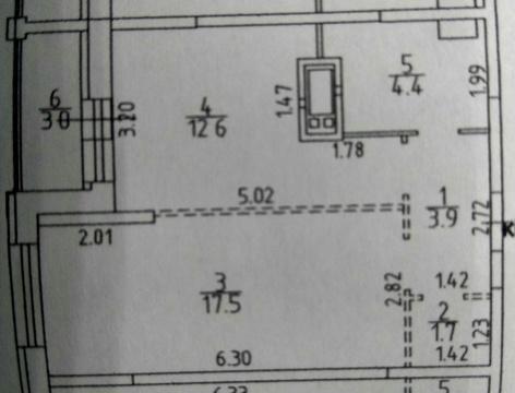Видное, 1-но комнатная квартира, купелинка д.20, 3350000 руб.