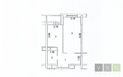 """1-комнатная квартира, 47 кв.м., в ЖК """"Новокосино"""""""