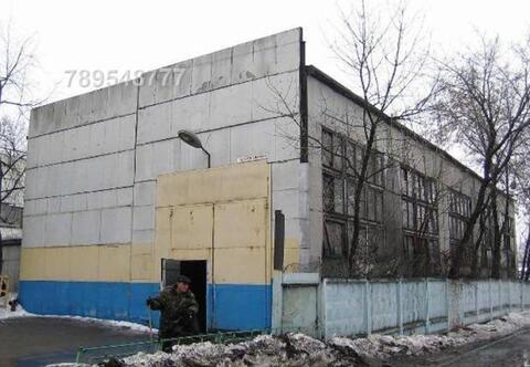 Производственная база на юге Москвы в пределах МКАД