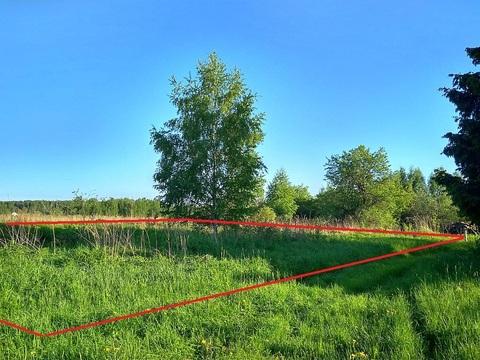 Недорого земельный участок в деревне. Рядом канал им. Москвы.