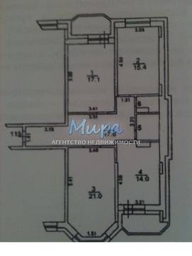 """3-комнатная квартира, 85 кв.м., в ЖК """"Адмиралтейский"""""""