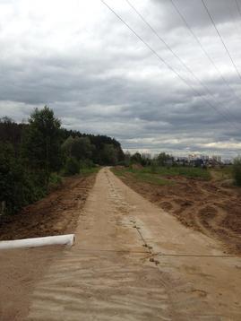 Пром. участок 50 сот в 5 км по Киевскому шоссе с коммуникациями