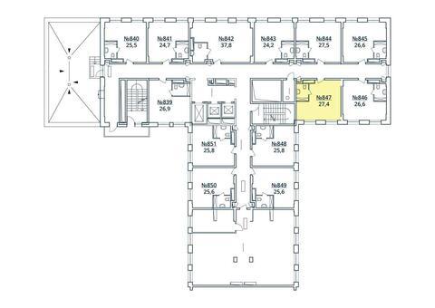 Москва, 1-но комнатная квартира, ул. Радиальная 6-я д.7, к 35, 3010328 руб.