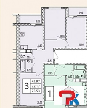 Жуковский, 3-х комнатная квартира, ул. Гагарина д.60, 4120000 руб.