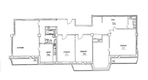 Москва, 5-ти комнатная квартира, ул. Космонавтов д.дом № 10, 59900000 руб.
