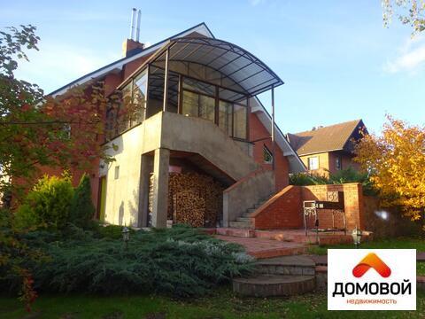 4-уровневый кирпичный дом 600 м2 в Серпуховском р-не д. Левашово.